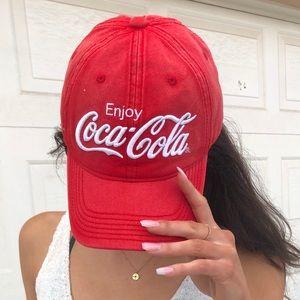 Coca-Cola red cap